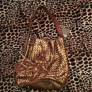 Melie bianco shoulder copper bag